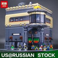 Лепин 15015 город создатель динозавра музей модель здания Наборы 5003 шт. Кирпич игрушка