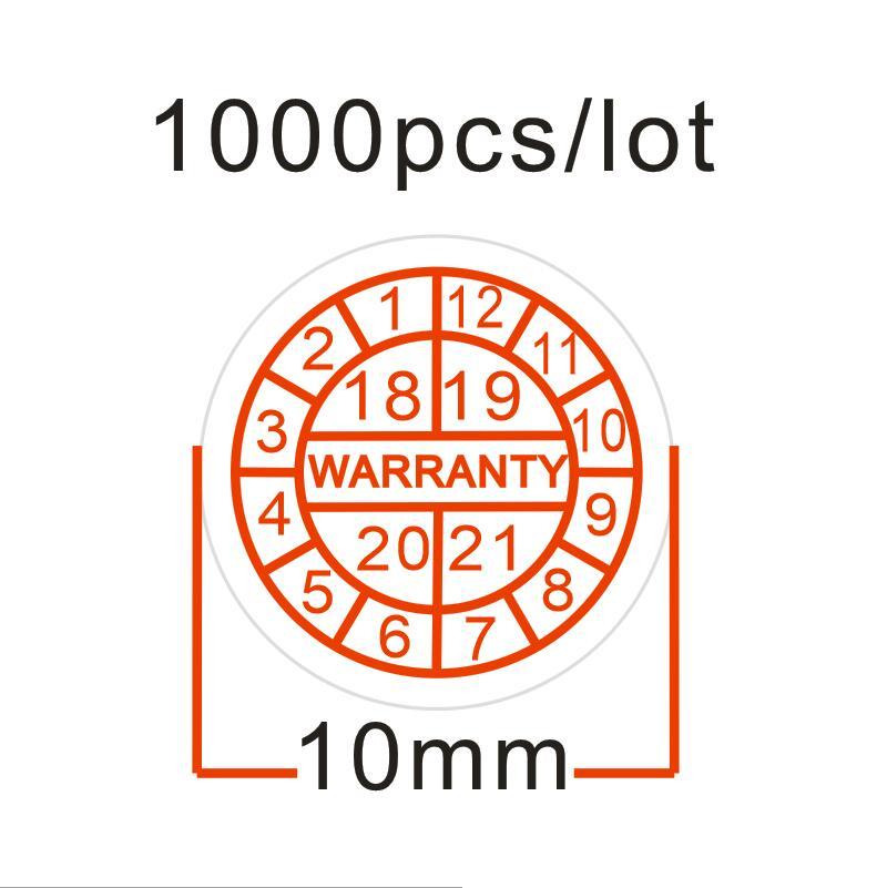 wholesale 1000pcs/lot diameter 10mm, warranty stickers, void stickers, Warranty void if seal broken,free shipping