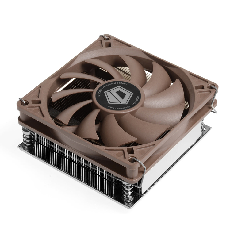 ID-COOLING IS-VC45 overclocking ITX host dedicated mini small chassis radiator hot plate three pairs of red sea mini edition overclocking pipe intelamdcpu radiator silent fan