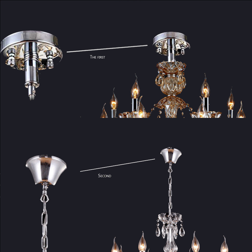 Luxurious modern chandeliers hand blown crystal chandelier lamp luxurious modern chandeliers hand blown crystal chandelier lamp cristal lustre de cristal lampadas led ceiling lamp in chandeliers from lights lighting on aloadofball Choice Image