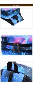 Image 5 - Japan Anime Naruto Backpack Printing Cool Night Lumious School Bag for Teenagers Cartoon Travel Rucksack Oxford Mochila Galaxia