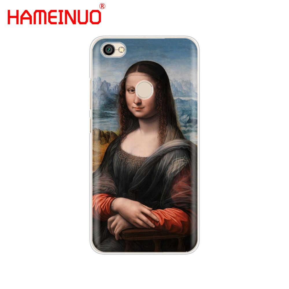 HAMEINUO Mona Lisa by Leonardo da Vinci чехол для телефона Xiaomi redmi 5 4 1 1 s 2 3 s pro PLUS redmi note 4 4X 4A 5A