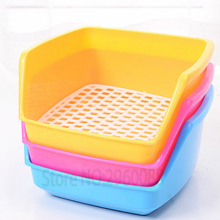 2018 Hot Products Free pet rabbit toilet Plastic multicolor rabbit accessories pet supplies Easy to clean Increase the toilet