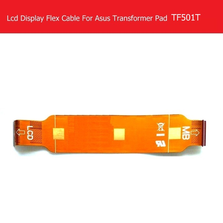 LCD Panel Flex Cable For ASUS Transformer Pad TF501T K00C LCD Display Flex cable & Screen LCD replacement TF501T_LCM_FPC_SHARP_L weeten genuine lcd panel flex cable for asus transformer pad tf701t k00c lcd display flex cable