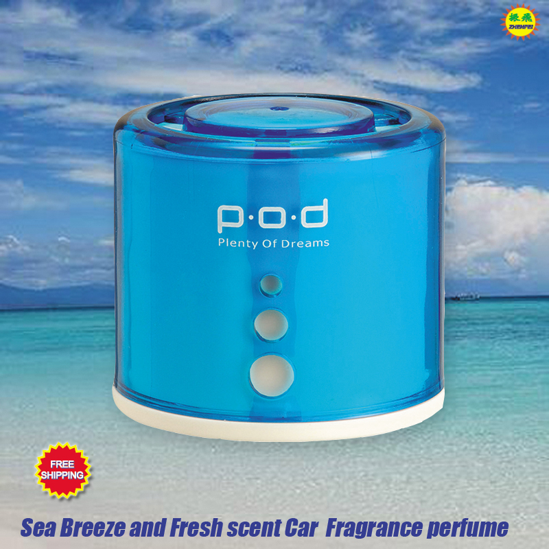 Car Perfume Auto Interior accessories Ocean Sea Breeze Fresh scent perfum air freshener smell in the car styling for girl