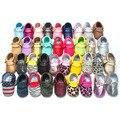Бесплатная Доставка 29-Colors Кисточкой Кожа Детская Обувь Мокасины Мальчик Малыша Обувь Младенческой Новорожденных Девочка Обувь Сначала Ходунки 2212