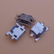 100pcs Mini USB Jack Charging Socket Port Connector Power Dock Plug For Amazon Fire HD8 7th Gen SX034QT Replacement Repair