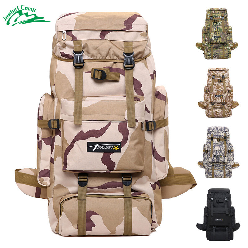 70L Tactical Backpack Big Bags 2018 Climbing Waterproof Military Backpack Rucksack Outdoor Travel Hiking Army camping цена
