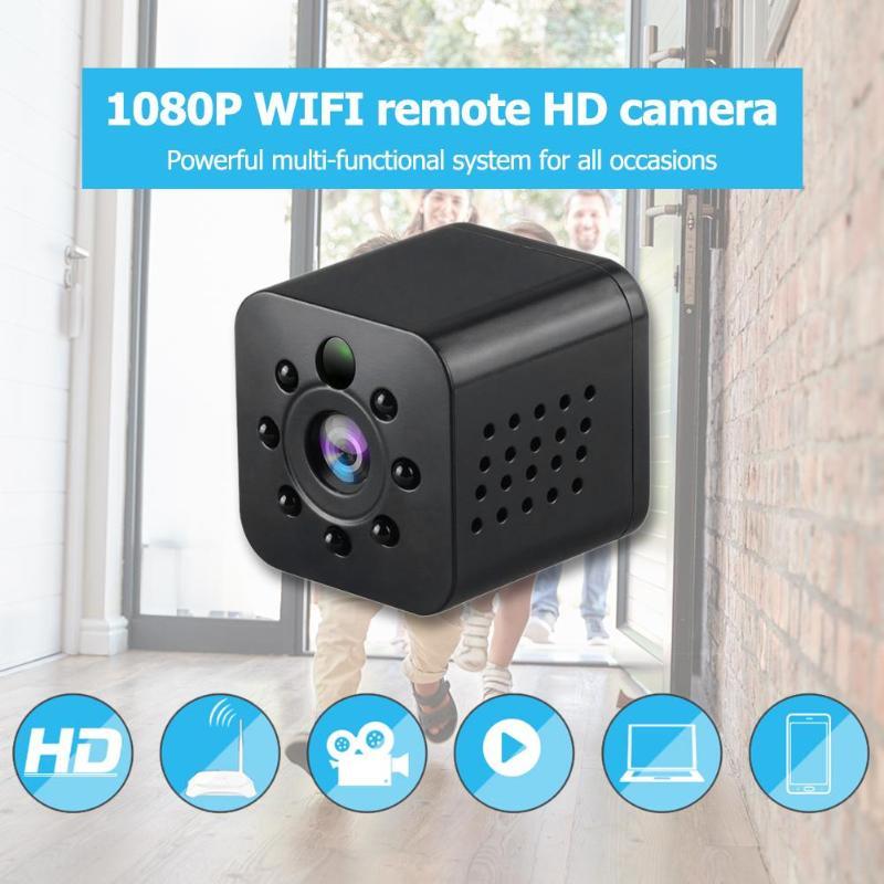 1080 P HD sans fil WiFi Mini caméra intelligente caméscope IR Version nocturne grand Angle sport Action DV DVR enregistreur vidéo caché TFcard