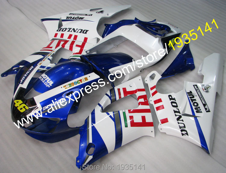 Hot Sales,#46 Motorbike Accessories For Yamaha 1998 1999 YZF R1 YZF-R1 98 99  YZF1000 R1 motorcycle fairing (Injection molding) hot sales for yamaha yzf r1 2007 2008 accessories yzf r1 07 08 yzf1000 black aftermarket sportbike fairing injection molding