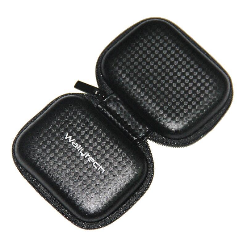 Wallytech Oringinal новый черный жесткий Carry чехол для хранения наушников сумка для наушников и Наушники случае