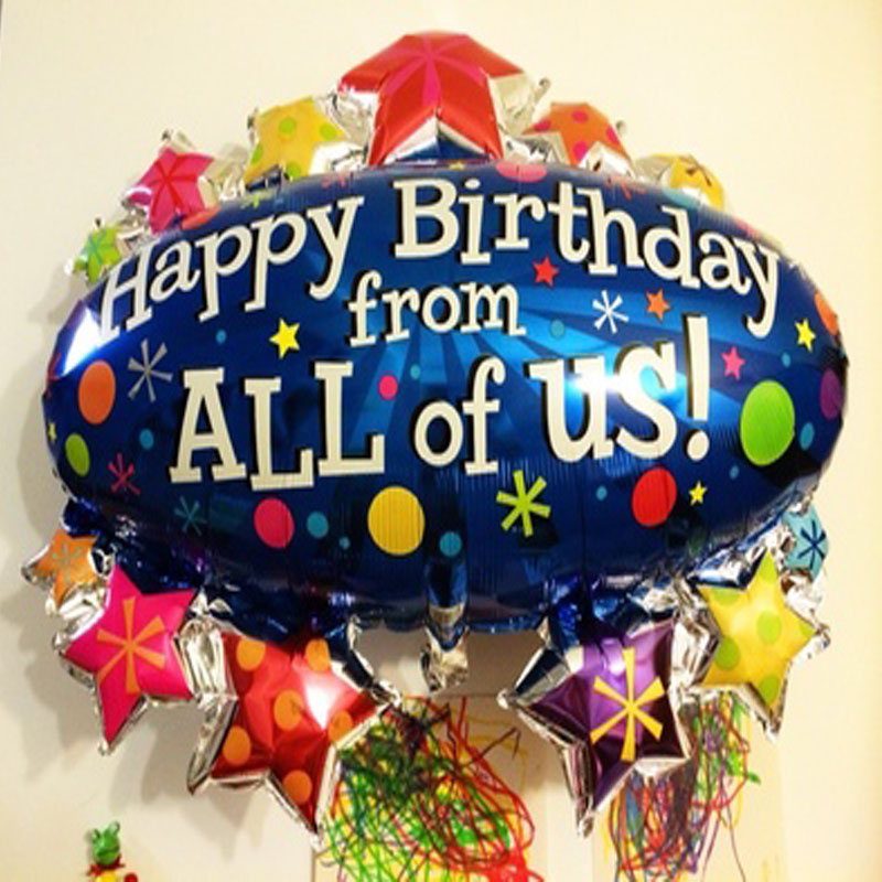 Popular Personalized Birthday Balloons Buy Cheap