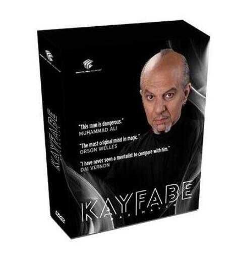 Kayfabe (4 Set) By Max Maven And Luis De Matos-Magic Tricks