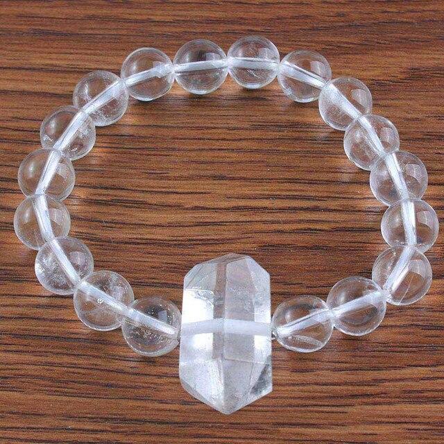 Bracelet Bien Être Et Ênergie En Cristal De Roche