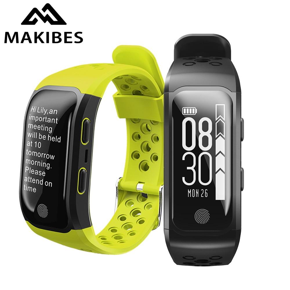 Makibes G03 GPS Smart Fitness Band Multisport GPS tracker IP68 waterproof Dynamic heart rate smart wristband