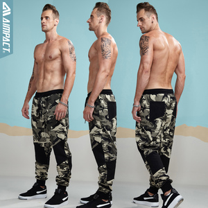 Image 4 - Aimpact הסוואה Jogger מכנסיים לגברים מצויד פעיל כותנה מכנסי טרנינג זכר מסלול מכנסיים Hiphop מזדמן ספורטיבי מכנסיים איש AM5006