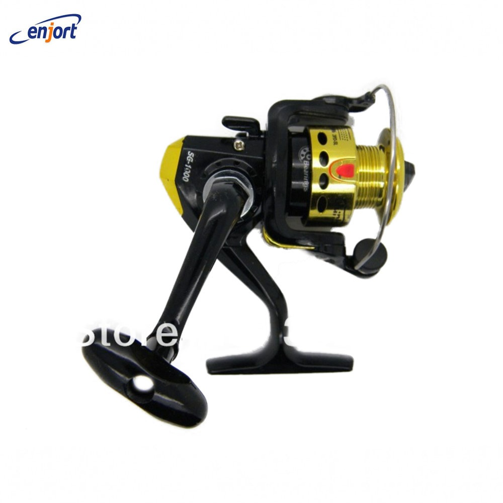 1pcs fishing reel black 6bb 6bb sg1000 5 1 1 fishing for How to reel in a fish