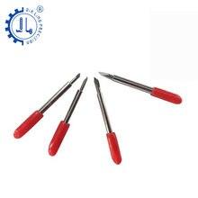 Jialing 10 pc roland cortador plotter lâmina carta ferramentas de gravura do computador faca gravura bits para rotulação