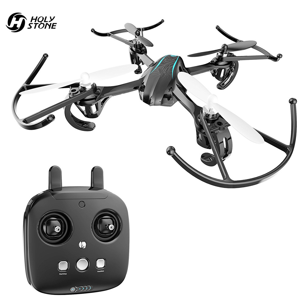 EU USA Stock Holy Stone HS170G font b Drone b font Elven Mini RC Helicopter