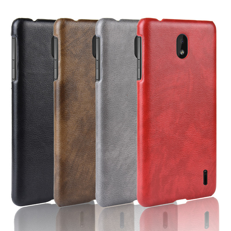 For <font><b>Nokia</b></font> <font><b>1</b></font> <font><b>Plus</b></font> ShockProof luxury PU Leather Hard Back Cover Case For <font><b>Nokia</b></font> <font><b>1</b></font> <font><b>Plus</b></font> Nokia1 1Plus <font><b>TA</b></font>-<font><b>1130</b></font> <font><b>TA</b></font>-1111 Phone Case image