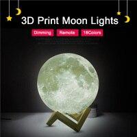 แบบชาร์จ3Dพิมพ์โคมไฟดวงจันทร์16