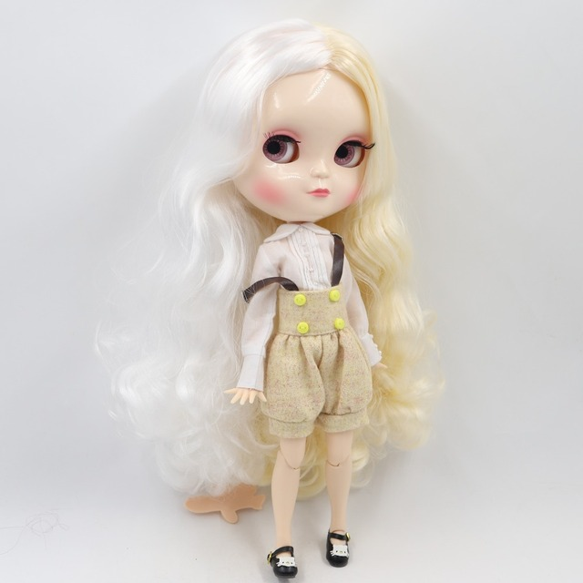 ICY Neo Blythe Doll White Blonde Hair Azone Jointed Body