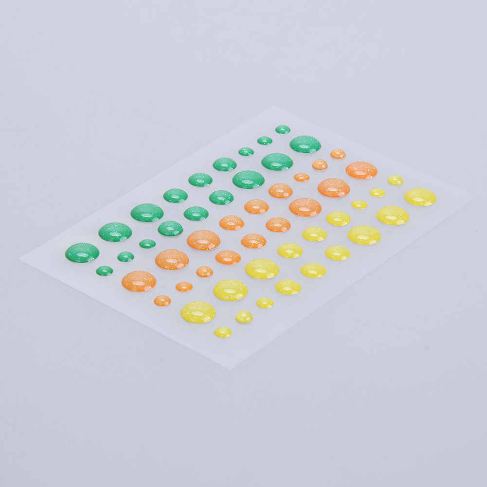 Resina adesivo ponto scrapbooking/diy artesanato açúcar polvilhar auto-adesivo resina sortidas fazendo decoração scrapbooking