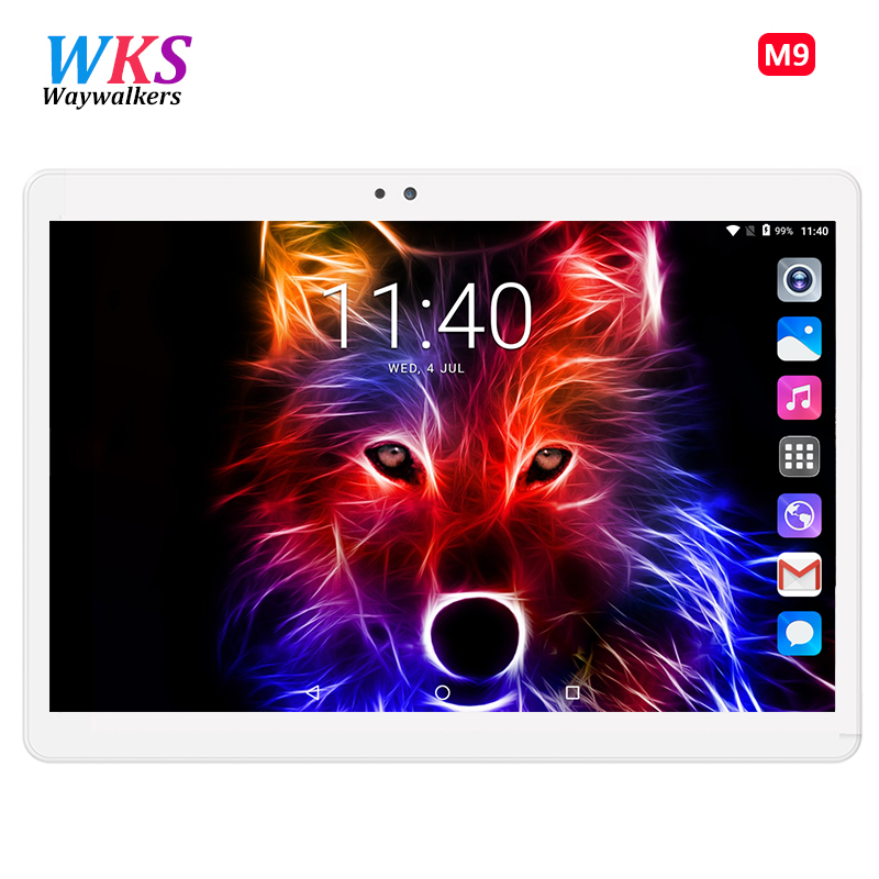 SEMAINES Date Octa Core 3g Tablet PC 4 gb RAM 64 gb 32 gb ROM Double Caméras 5MP Android tablette Android 7.0 10.1 pouce