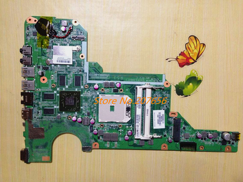 ФОТО Laptop Motherboard DA0R53MB6E1 683031-501 7670 2GB for HP Pavilion G4 G6 G4-2000 G6-2000 683031-001 Notebook PC systemboard