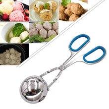 S/L мягкая удобная рыба Фрикаделька кухонный инструмент зажим из нержавеющей стали гаджеты рисовый шар таблетки производитель мяса еда Tong Плесень DIY