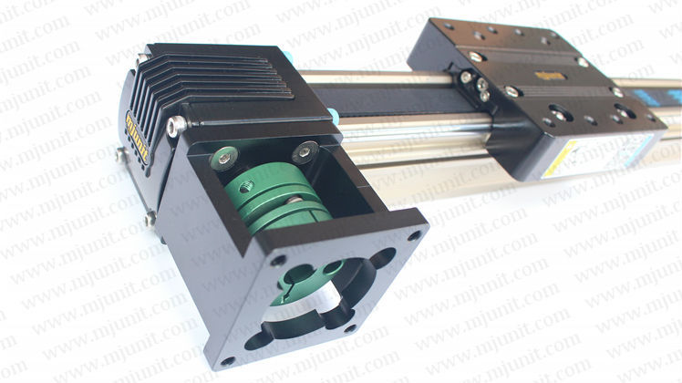 belt drive Linear Guide Rails Precision Sliding flange bearing, toothed belt drive motorized stepper motor precision linear application for industry