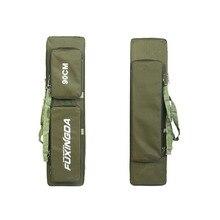 Teeway Fishing bag 0.9 meters 3 layer Camouflage super big fishing tackle bag fishing rod bag 90*28*23cm Free Shipping