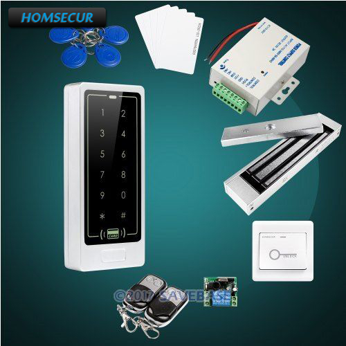 HOMSECUR Waterproof Touch Keypad ID Access Control System+Waterproof 280KG Magnetic Lock все цены