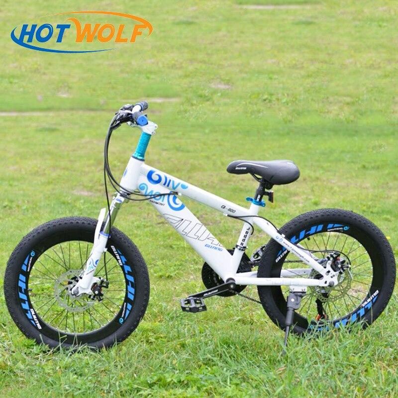 20 pollici Bici Bambino mountain bike per i ragazzi e le ragazze della bicicletta bici meccanico a disco freno 20*2.125 ragazzi e ragazze di sport della bici