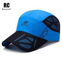 Factory Direct Outdoor Sport Hats Summer Fashion Baseball Cap For Men Women Soccer Mesh Casquette Cotton