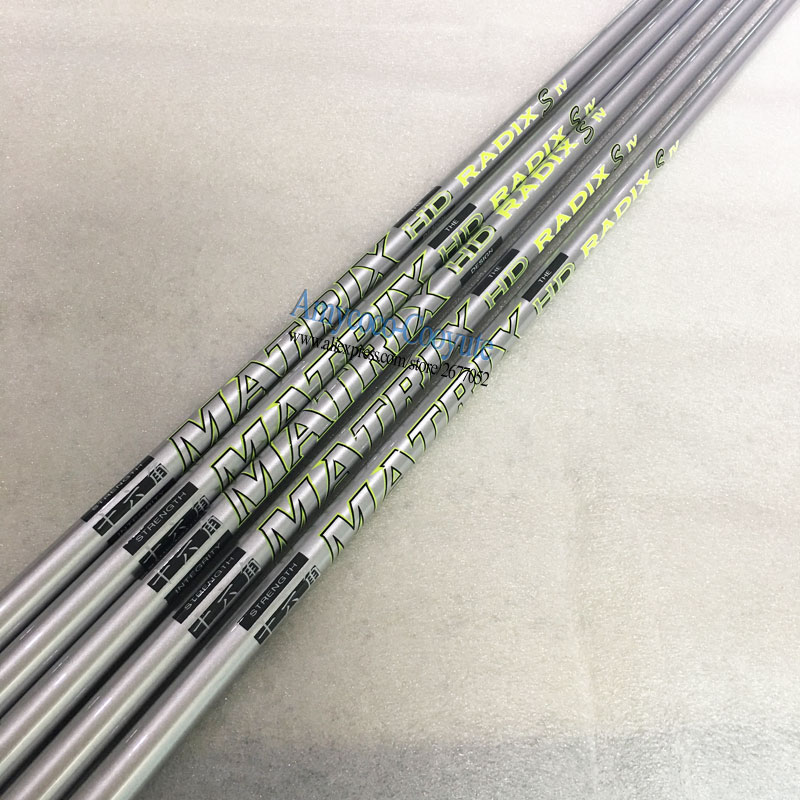 Image 3 - Cooyute 8pcs/lot New Golf shaft MATRIX S IV 4 16 corner Golf driver shaft MATRIX Golf Graphite shaft R or S Flex Free shipping-in Club Shafts from Sports & Entertainment