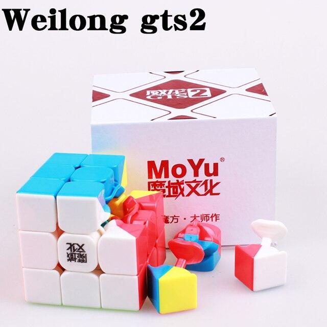 Купить магнитный скоростной куб moyu weilong gts gts3m профессиональный картинки