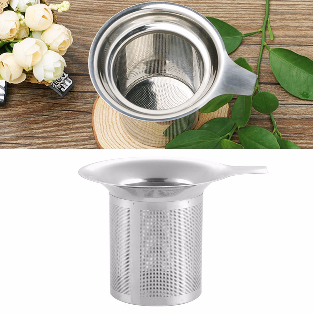 Bodymate herbal loss product weight - 1pcs Hot Sale High Quality Mesh Tea Infuser Stainless Steel Reusable Strainer Loose Tea Leaf Spice Filter Wholesale