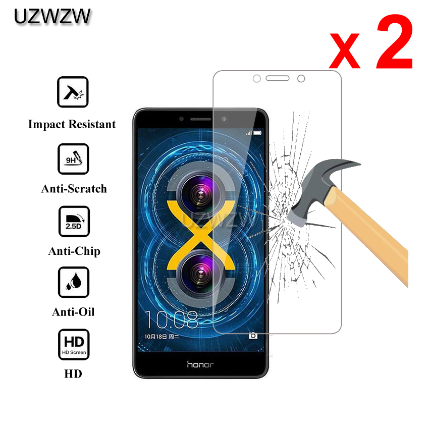 2pcs For Huawei Honor 6X Glass Premium 2.5D Tempered Glass Screen Protector For Huawei Honor 6X Protective Glass