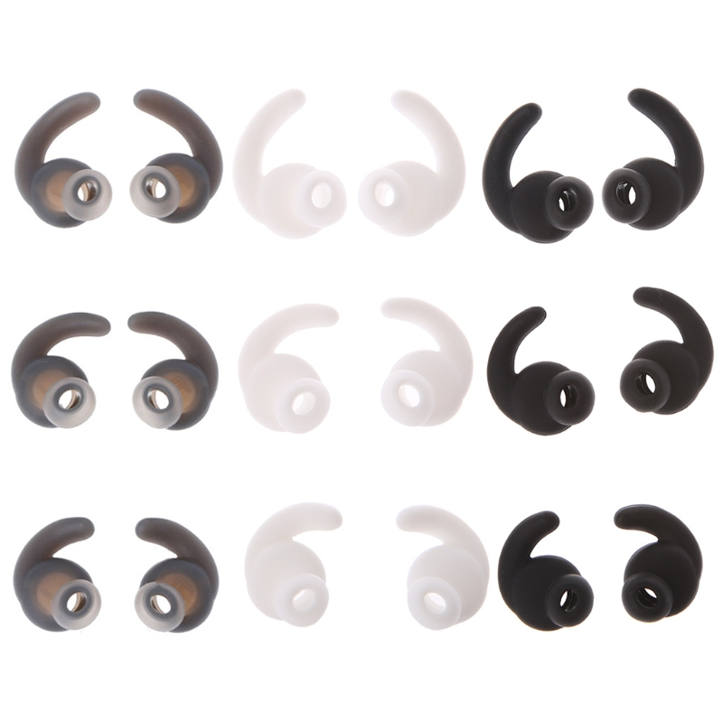 New S/M/L 3 Pairs Silicone Earbuds Cover With Ear Hook For JBL Bluetooth Headset