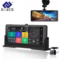 E ACE 1080 P HD 4 г Видеорегистраторы для автомобилей Камера ADAS видео Регистраторы Android 5,1 gps навигации Remote Monitor грузовик регистраторы с двойной Кам