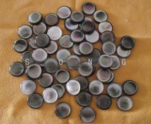 21 pcs trumpet finger buttons pearl set real pearl seashell