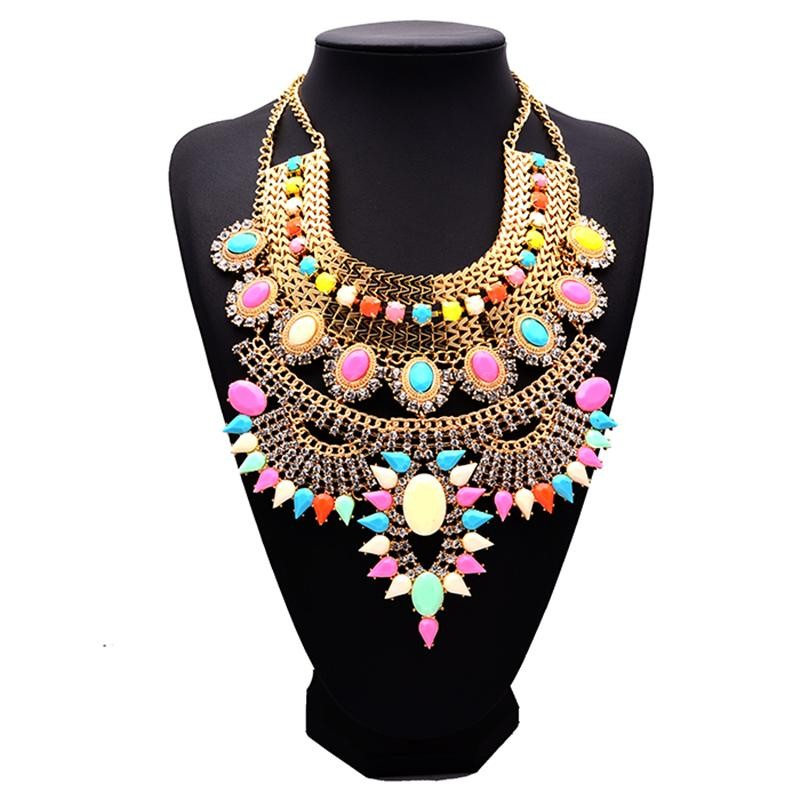 HTB1rN3OaPzuK1RjSsppq6xz0XXaL - Miwens Collar Za Necklaces Pendants Vintage Crystal Maxi Choker Statement Silver Color Collier Necklace Boho Women Jewelry