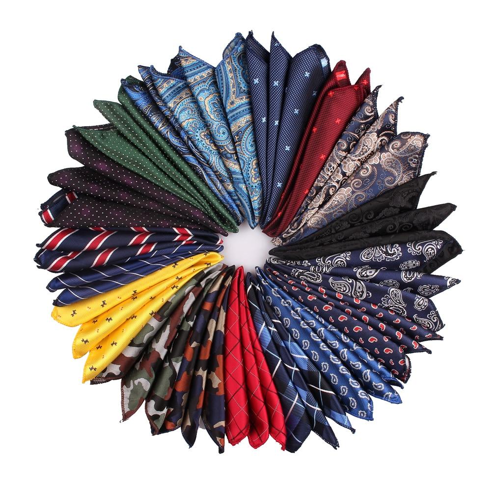 Men Pocket Square Suits Hanky For Men Plaid Mens Handkerchiefs Casual Suit Square Handkerchief Towels For Party 23 Cm X 23 Cm