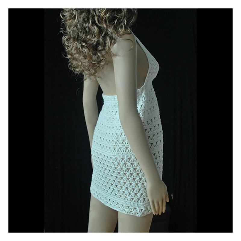 100% ձեռքի կոճղեղե հալթեր սպագետտի - Սպորտային հագուստ և աքսեսուարներ - Լուսանկար 2