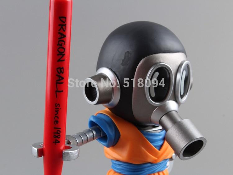 Banpresto Dragon Ball Z MEGA WCF 2 Akira Toriyama Son Goku Cloth Action Figure Toy 5 12cm