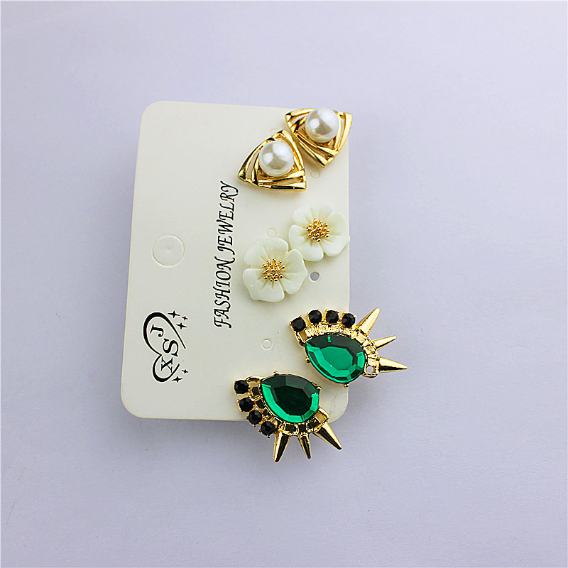New popular gorgeous women accessories girls birthday party mixing type stud earrings earrings gift shipping agent