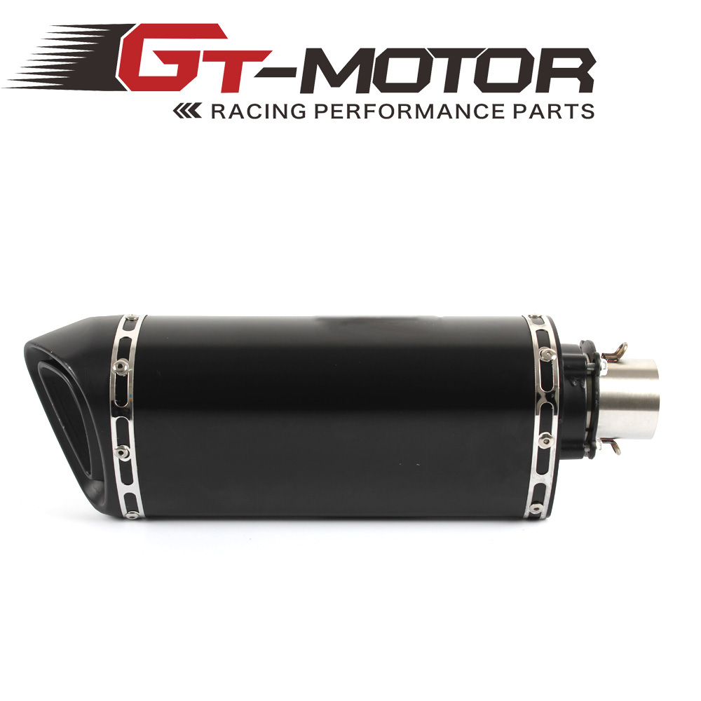 GT Motor - Universal Motorcycle exhaust Modified Scooter Exhaust Muffle for most motorcycle