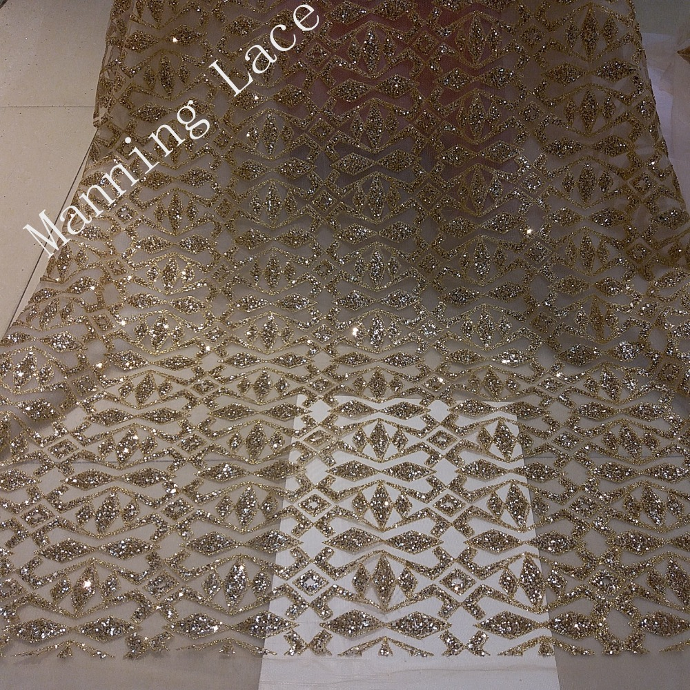 Wedding Gown Fabrics Guide: Gold Hand Printed Wedding Gown Fabric, Turkish Wedding