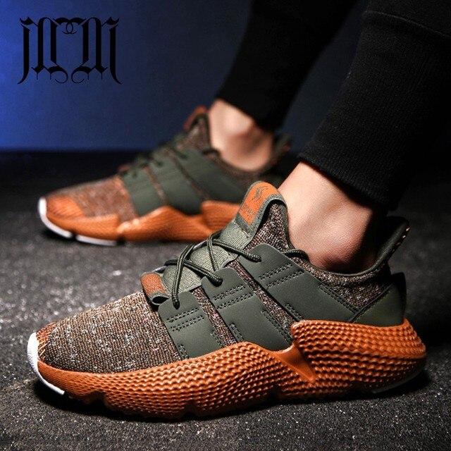 MumuEli/Новинка 2019 года; цвет оранжевый, зеленый, серый, черный; обувь высокого качества; Мужские дышащие брендовые дизайнерские модные роскошные кроссовки на плоской подошве; 001